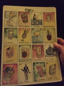 Lista cocktails